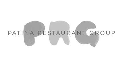 Hudson Creative Client Patina Restaurant Group