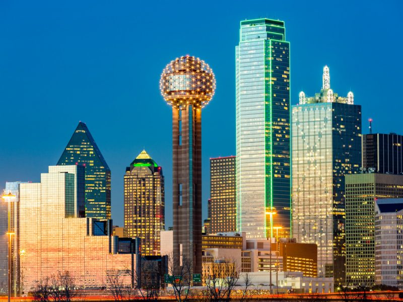 Reunion Tower, Dallas – Website Development